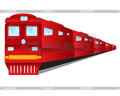 Locomotive clipart indian rail 5 CLIPARTO and red Stock