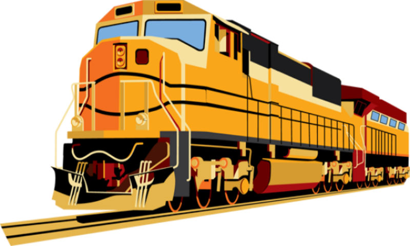 Locomotive clipart indian rail Trains days two for line