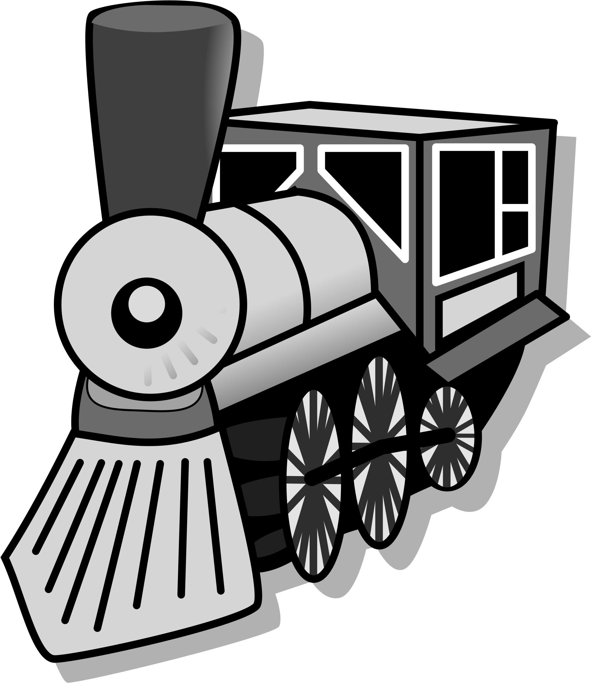 Locomotive clipart kereta api Commons svg icon File:Train Open