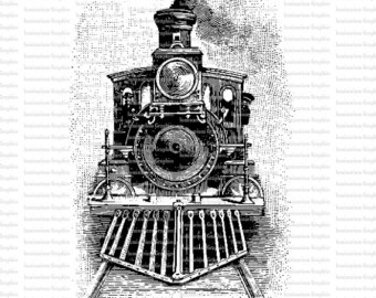Steam clipart train engine Engine Illustration Steam Train Train