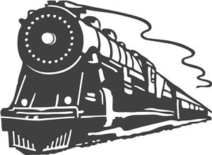 Shaow clipart train Pin on more and best