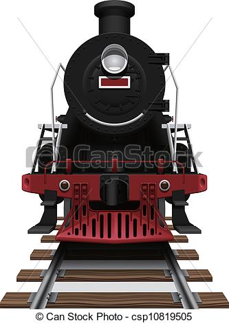 Steam clipart train engine Locomotive  steam Clipart illustration