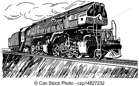 Locomotive clipart steam Of Clip steam trains Russian