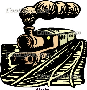 Steam clipart steam locomotive Art Steam train  Clip