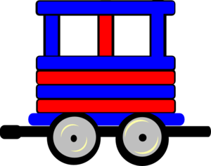 Locomotive clipart train carriage  Clip Loco Carriage Carriage