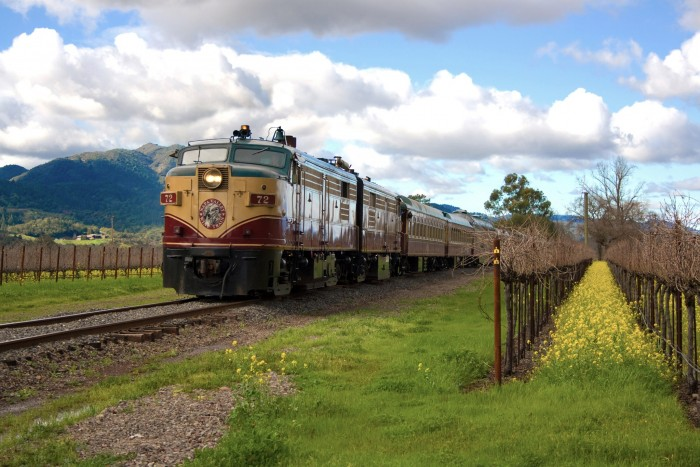 Locomotive clipart train cart Wine Diesel Pullman Valley Napa