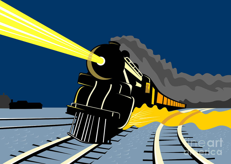 Locomotive clipart kereta api Cause Syndrome Wind aloysius night