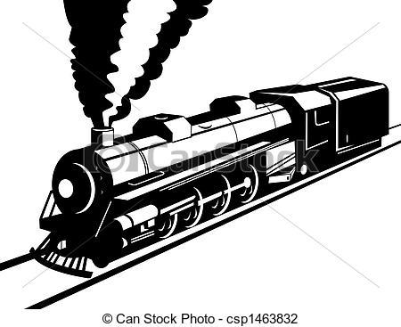 Railways clipart steam engine #6