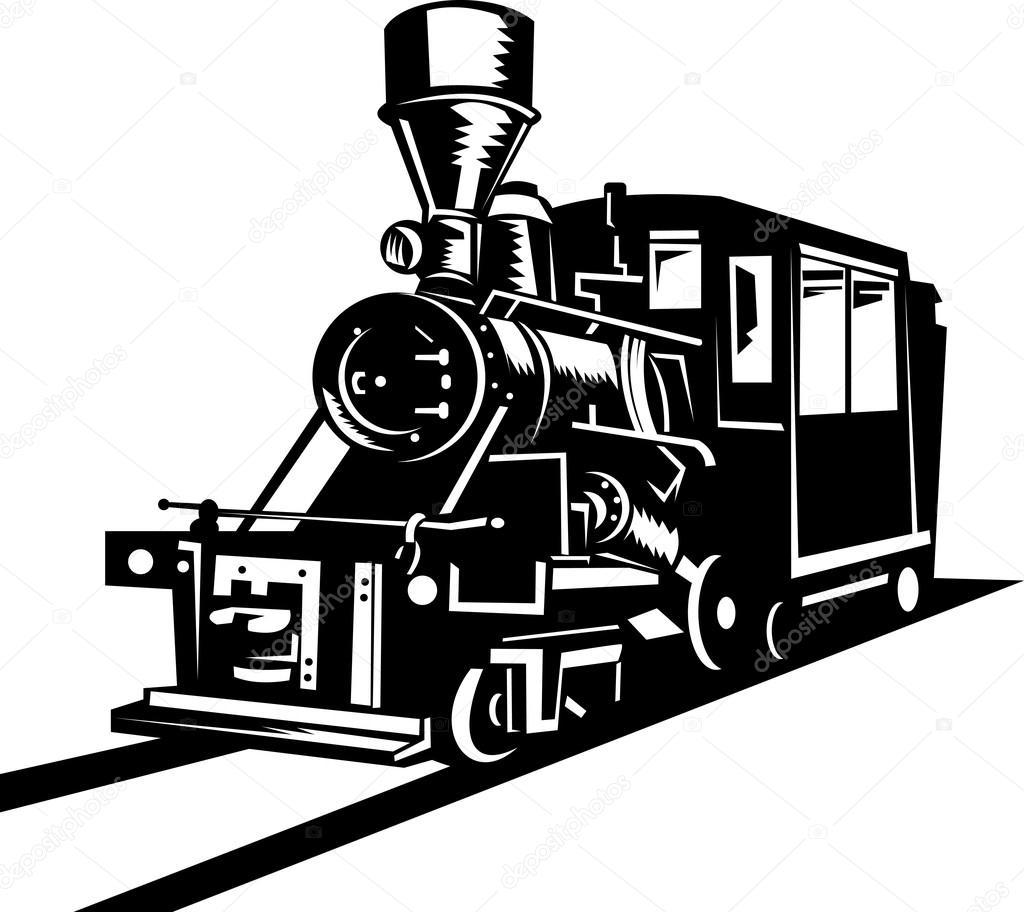 Locomotive clipart vintage train Vintage #7978332 patrimonio — steam