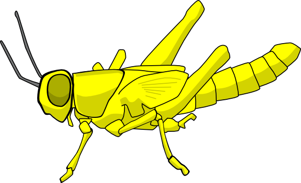 Locust clipart As: Clker image at royalty