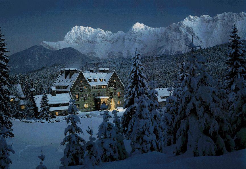 Lodge clipart winter scene Lodge Alpine alplodge jpg