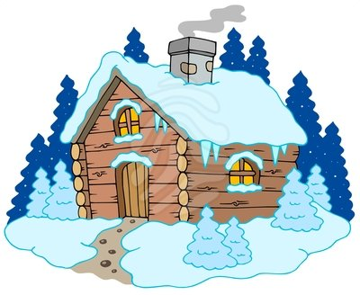 Lodge clipart winter scene Winter 18 – Images 101