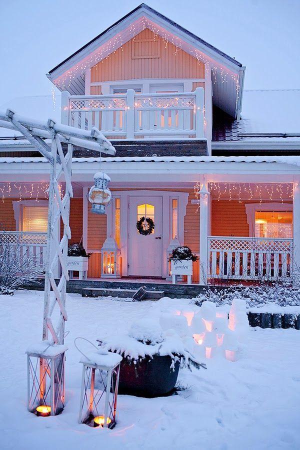 Lodge clipart winter scene Winter about Pinterest clip 9