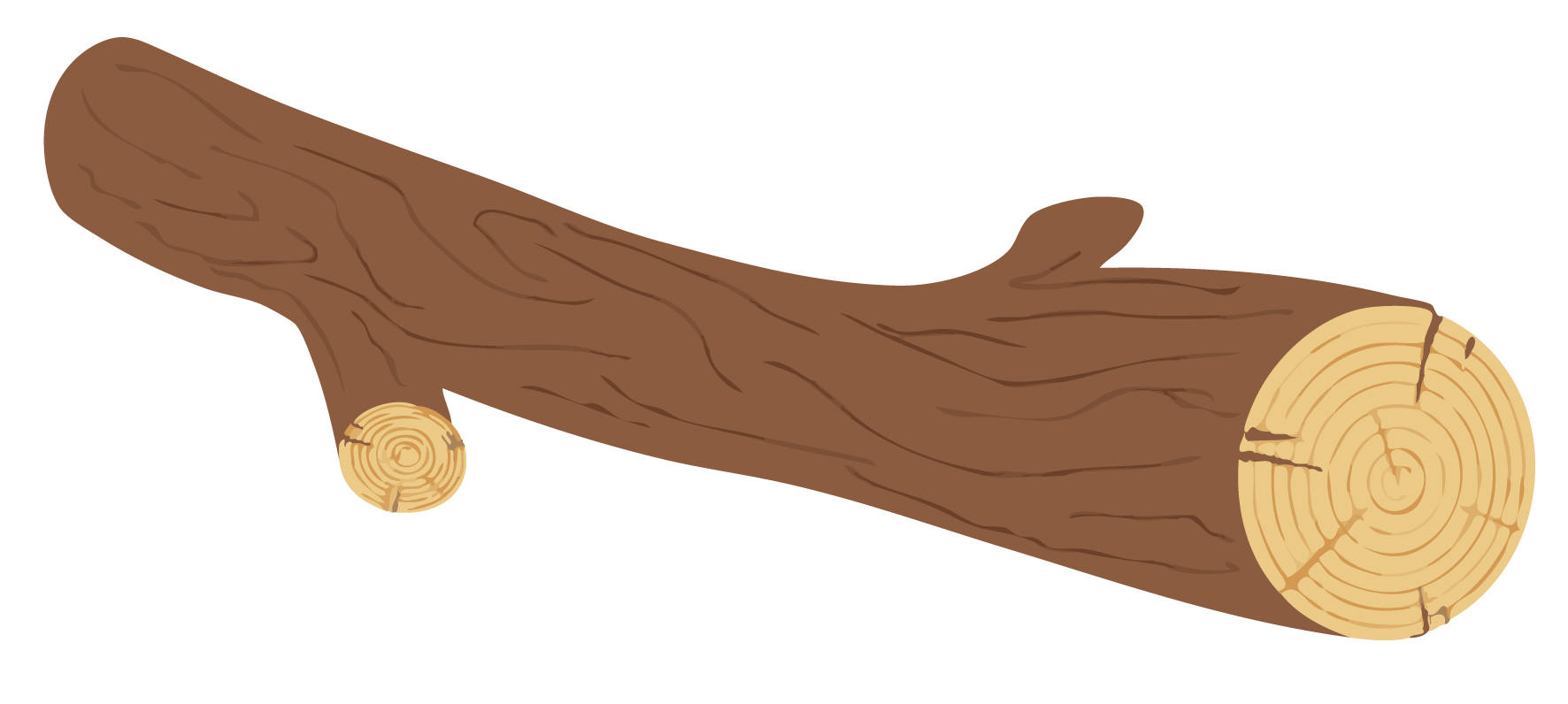 Wood clipart hollow log Log Log clip download free