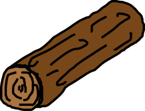 Log clipart Free log Clip clipart of