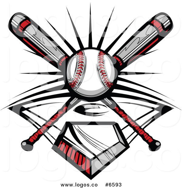 Baseball clipart emblem A a and Logo and