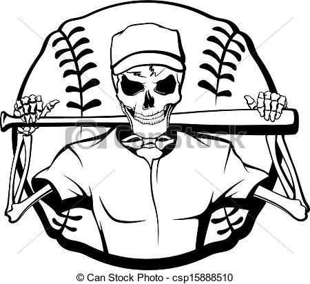 Baseball clipart emblem Black And Clipart Free White