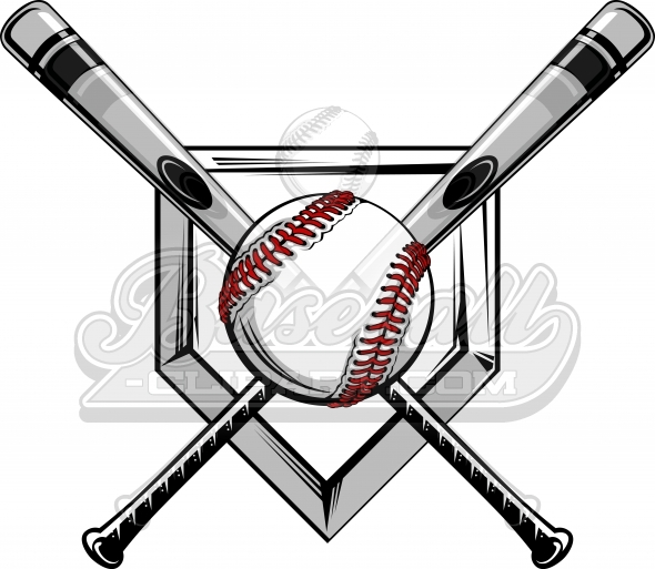 Baseball clipart batting #11