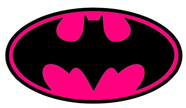 Pink clipart batgirl  Art online Batman vector