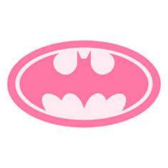 Pink clipart batgirl  vector Batgirl at Clker