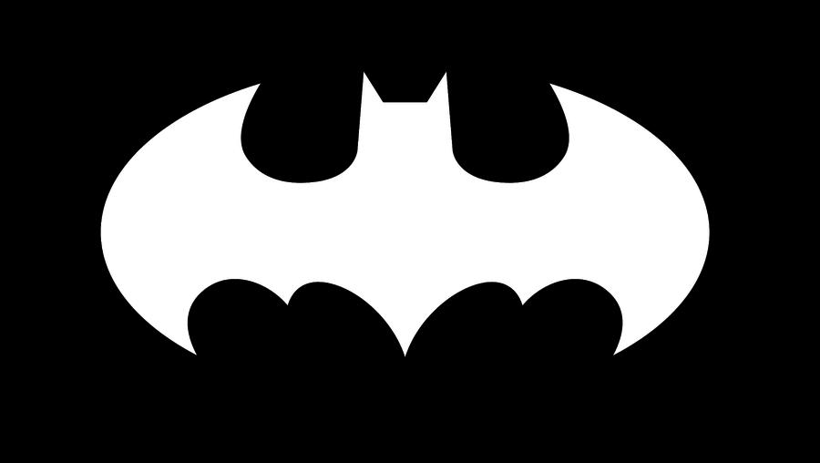 Batman clipart black and white CLIP logo Batman batman logo