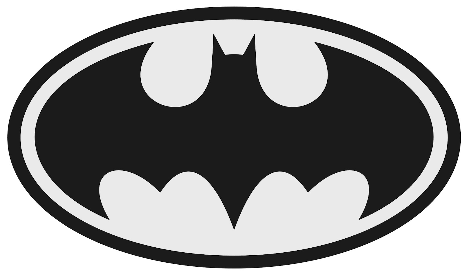 Batman clipart black and white Free Batman Images Black And