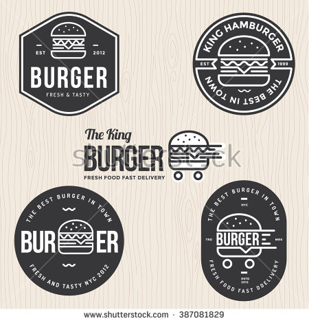 Logo clipart burger Burger for banner logo hamburger