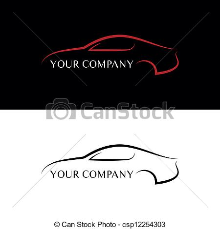 Company Logos clipart logo art Vector and black logos Red