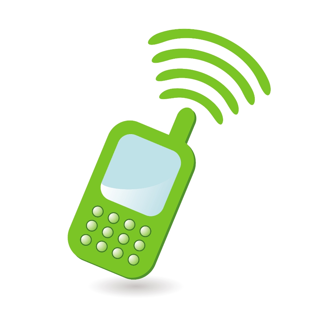 Telephone clipart mobile logo On Cell Mobile Clip Art