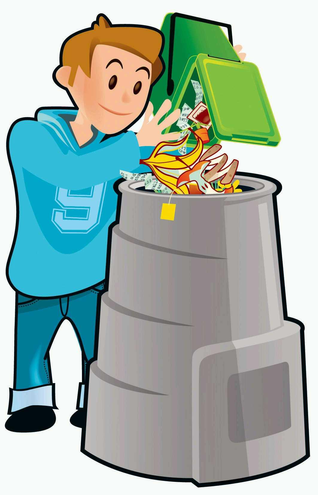 Trash clipart compost pile Pile bin Clip Clipart Compost