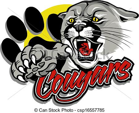Logo clipart cougar Cougar 6 Free Art Clip