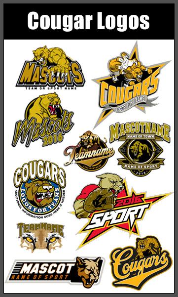 Logo clipart cougar Cougar Logos and Cougar Logos
