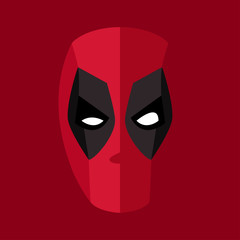 Mask clipart deadpool For mask hero mask character