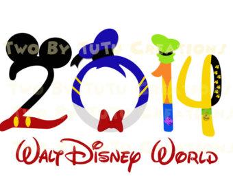 Vacation clipart logo Logo Disneyland Family Clipart