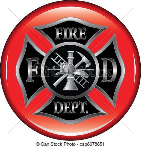 Logo clipart fire department Fire Clip Art Logo Department