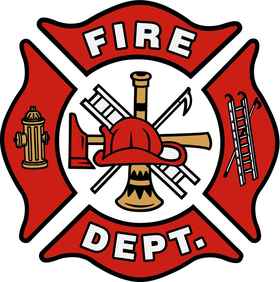 Logo clipart fire department Fire Logo  Blank Dept