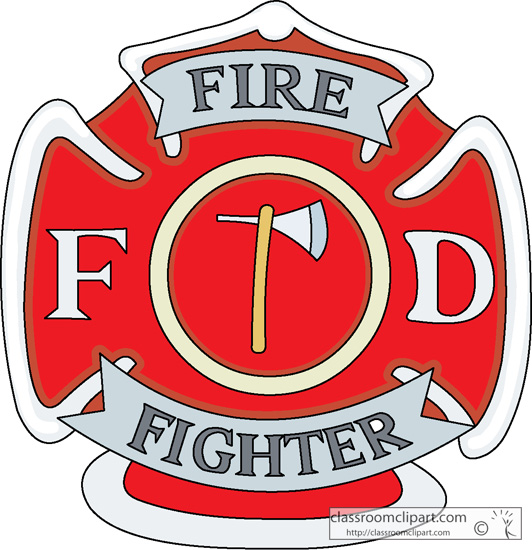 Firefighter clipart badge Logo department Collection clipart Clip