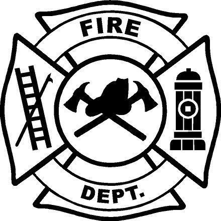 Fire Truck clipart badge #1