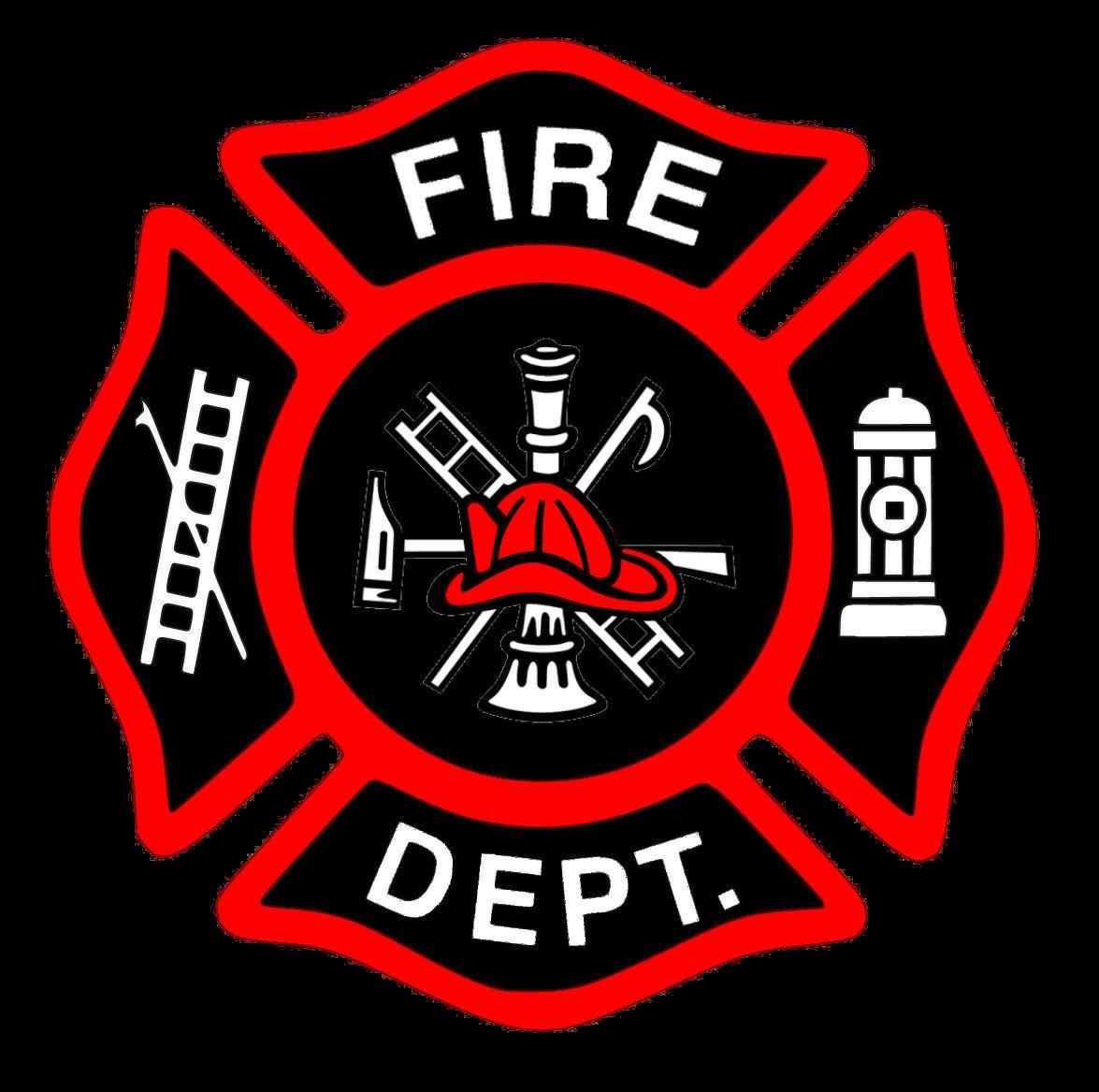 Fire Truck clipart badge #6