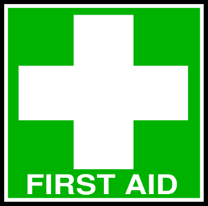 Red Cross clipart first aider Collection First Clipart White clipart