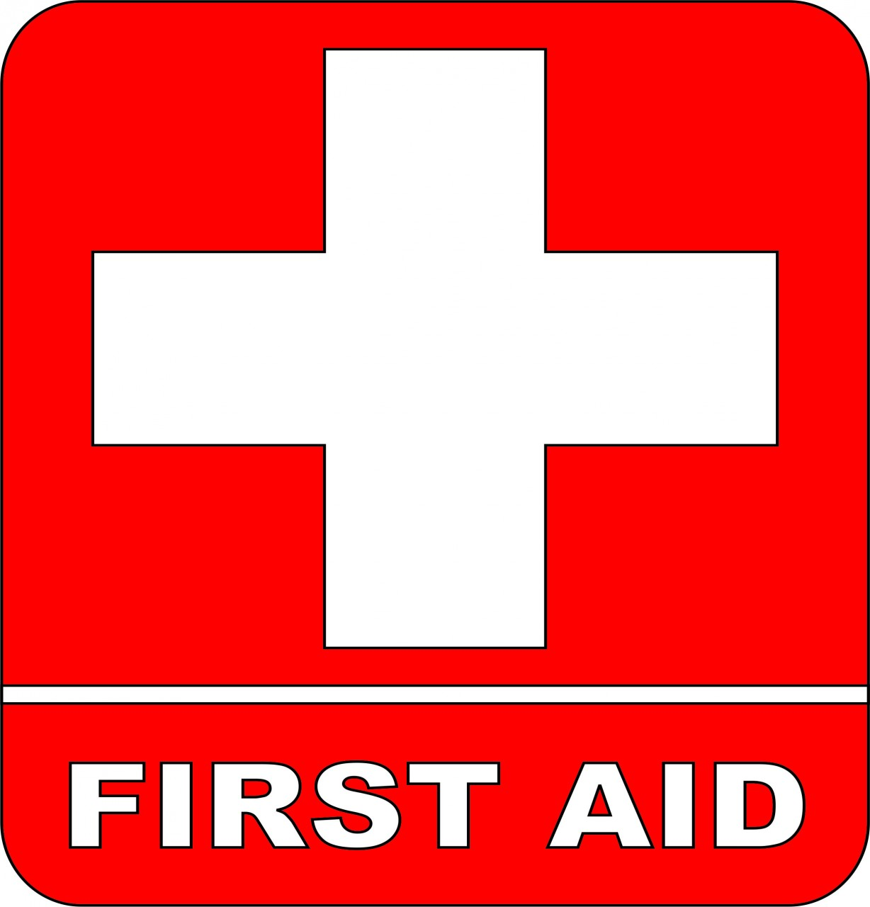 Red Cross clipart first aid box Clipart Aid Inspiration Logo First