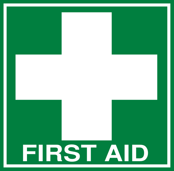 Red Cross clipart first aider (dark Clker this Text Download
