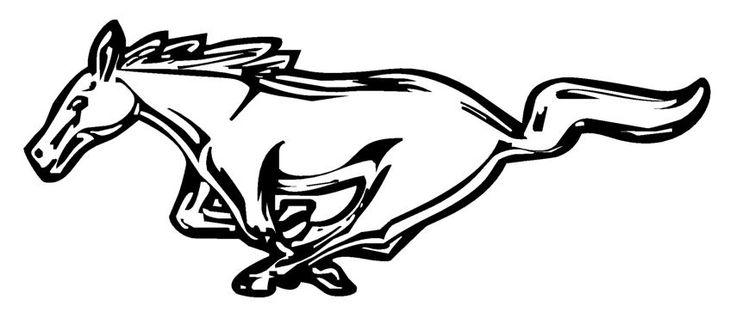 Logo clipart ford mustang Mustang Logo jpg Vector Mustang
