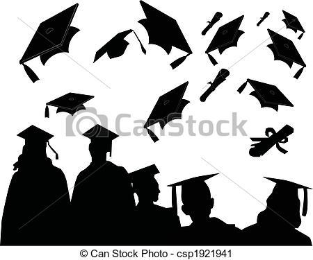 Logo clipart graduation Commencement Clip Graduates at of