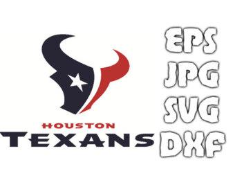 Logo clipart houston texans INSTANT logo Svg Format Vector