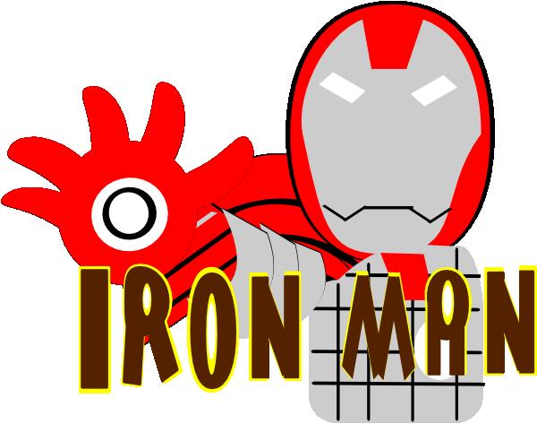 Logo clipart iron man Vector Iron Clip Free Panda