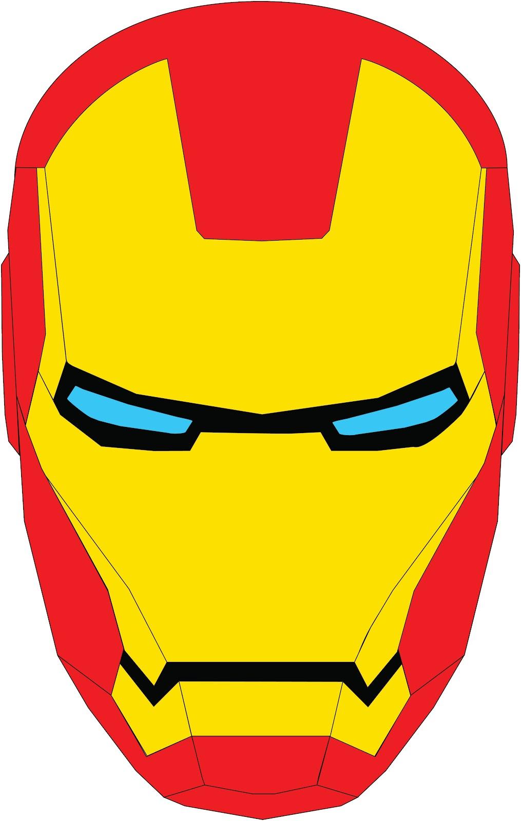Logo clipart iron man Man Iron Iron face man