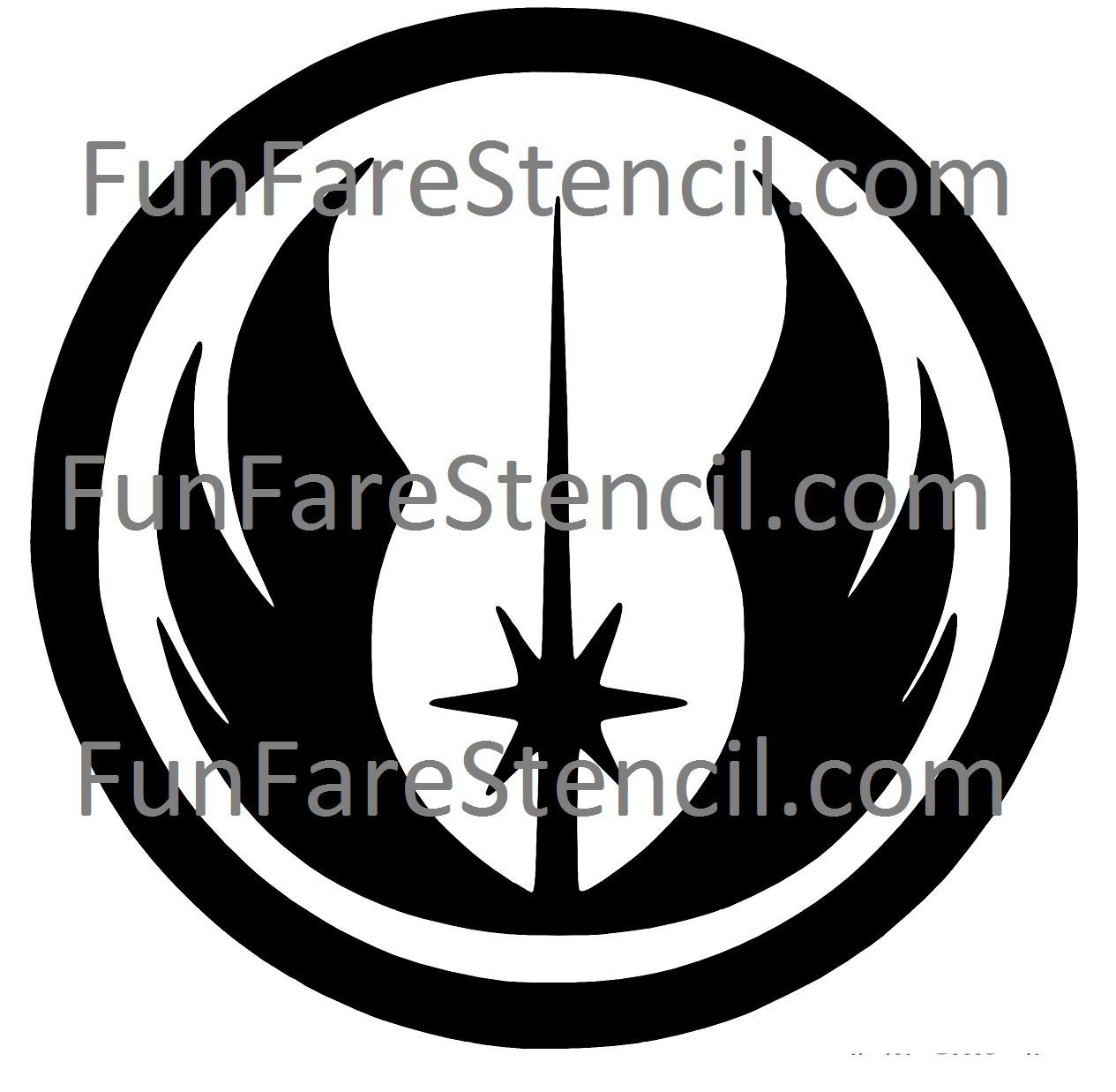 Logo clipart jedi Vinyl Decal Jedi Order