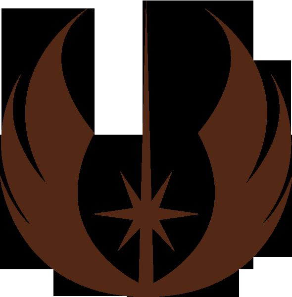 Logo clipart jedi Wars Clipart Symbol Star Brown