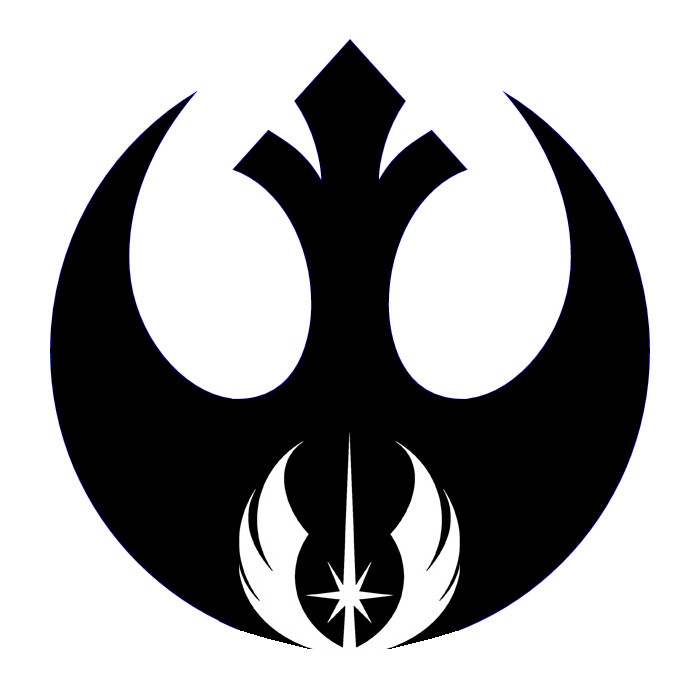 Logo clipart jedi The alliance and alliance tattoo